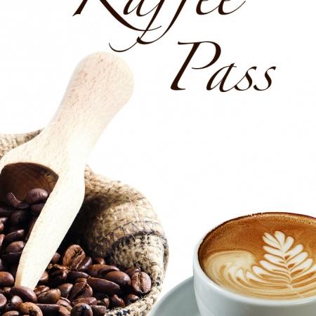 Kaffeepass im Visitenkartenformat, 250 Stück = 20 EU